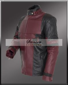Deadpool Leather Jacket on of the most classic Jacket made in the finest quality  NOW on Sale at Stinson Leathers with free worldwide shipping