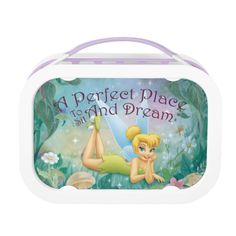 A Perfect Place to Sit and Dream Lunchbox Set Includes large (sandwich) container, two small containers, and ice pack. Metal Lunch Box, Perfect Place, Gifts For Kids, Packing, Lunch Boxes, Tinkerbell, Ice Pack, Disney Princesses, Container