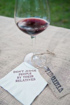 Napkins! Because your relatives are a little strange! :)
