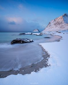 Vik Beach – Vestvågøy, Lofoten Islands, Norway