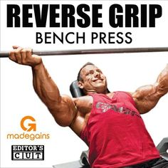 The reverse grip #benchpress just missed the cut on the recent science-based upper #chest training video, but this is a great exercise for several reasons..The first is that it's underutilized exercise that's effective at targeting the #upperchest (clavicular head). For those that have never (or rarely) use this exercise, it can be a novel (new / different) #training stimulus to incorporate into their chest training..Second, if a #lifter is suffering from #shoulder issues, or has a hard tim