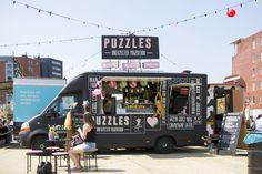 Foodtruck Puzzles : unexpected powerfood  Foodtruck festival TREK blogged by Celine Leah fotografie