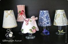 DIY Romantic Wine Glass Candle Lamp