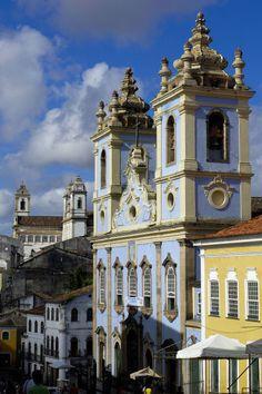 Pelourinho; Salvador; Bahia; Brazil