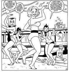 Catfight Wrestling, Love And Rockets, Comic Art, Comic Books, Alternative Comics, Strange Tales, Marvel Women, Marvel Entertainment, Graphic Novels
