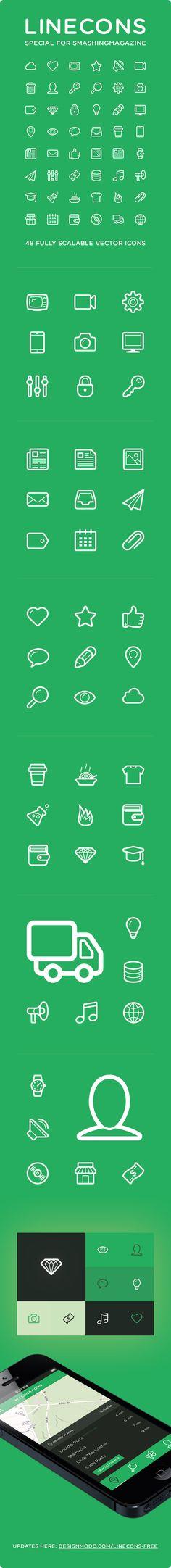 Linecons - Free Icon Set
