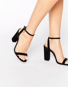 Image 1 ofASOS HERMIONE Heeled Sandals