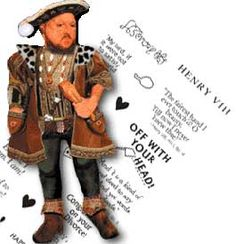 Henry VIII Greeting Card: Renaissance Costumes, Medieval Clothing, Madrigal Costume: The Tudor Shoppe