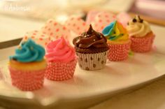 Good things come in small packages:D People may disappoint. Cupcakes are eternal♥   #ChocoChip #Rainbow #BlueVanilla #PinkVanilla #Chocolate #MiniCupcakes #Cupcakes #Desserts #SweetTreats #FoodPhotography #Ambrosia