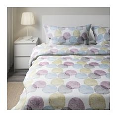 ikea fyresdal dagbdd see more malin rund duvet cover and pillowcases multicolor multicolor king