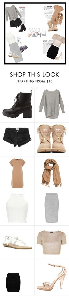"""💖"" by alixbudgen ❤ liked on Polyvore featuring Charlotte Russe, Abercrombie & Fitch, Balmain, H&M, Blowfish, Topshop, Zizzi, Prada and Bottega Veneta"