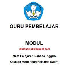Modul Guru Pembelajar Bahasa Inggris SMP ~ Info Guru