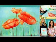 Pintar al Oleo - Flores - Colores Titanatos - Alba Artistica - YouTube