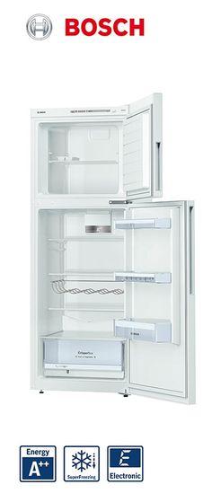 Réfrigérateur-congélateur - 2 portes | Volume partie réfrigérateur : 194L | Volume partie congélateur : 70L