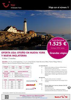 ¡Grandes viajes! Oferta USA: Otoño en Nueva York y Nueva Inglaterra. Precio final desde 1.525€ - http://zocotours.com/grandes-viajes-oferta-usa-otono-en-nueva-york-y-nueva-inglaterra-precio-final-desde-1-525e-8/