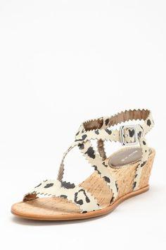Rebecca Taylor Shoes Simona Open Toe Wedge Sandal