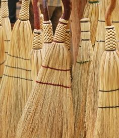 Off the Grid News - homemade brooms 3 ways