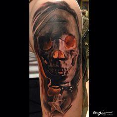 Tattoo by Andrius Augulis at Augis Tattoo in Šiauliai, Lithuania