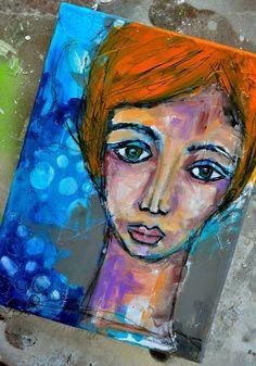 Canvas 01 by dina wakley