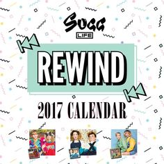 The Sugg Life 'Rewind' 2017 Calendar! Each month, Joe and Zoe have recreated one of their favourite childhood photos. The calendar opens out to wide x Christmas List 2016, Christmas Books, Youtuber Merch, Youtubers, Sugg Life, Zoe Sugg, English Tattoo, Zoella, Calendar 2017