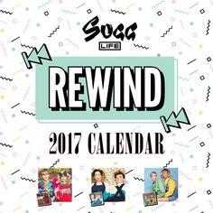 2017 Rewind Calendar
