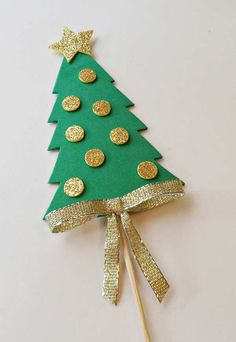 Christmas Things To Do, Christmas Crafts For Kids, Diy Christmas Gifts, Kids Christmas, Christmas Tree Ornaments, Christmas Decorations, 242, Paper Flower Tutorial, Preschool Crafts