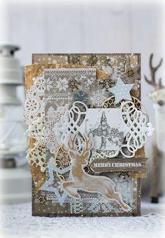 Модное хобби: Новогодний многослой. МК от Katerina Zlenko