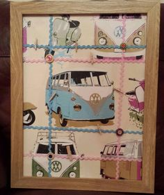 Milly's campervan memo board for christmas