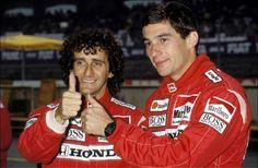Prost , Senna 1988