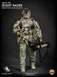 Green Wolf Gear Galac-Tac Desert Raider Exclusive Version - 001
