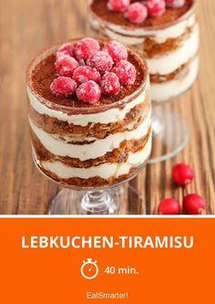 Lebkuchen-Tiramisu - smarter - Zeit: 40 Min. | eatsmarter.de