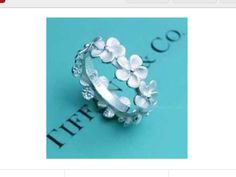 Forget me not ring by, Tiffany and Co.