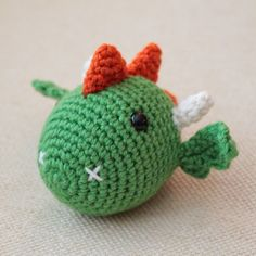 Turtlekeeper Designs : The DRAGON: Chinese Zodiac Animals #5, free pattern, 2/16