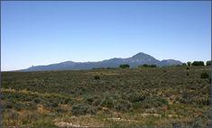 Ute Mountain and sage plain. Photo by Joyce Alexander; copyright Crow Canyon Archaeological Center. Near Cortez, Colorado