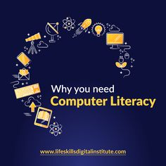 Why you need Computer Literacy  - It helps address the gap in your knowledge as it can give you access to numerous content. - It supports Entrepreneurship given that computer skills are a basic requirement for success of most businesses today. - Computer Literacy Skills command Innovation. - It helps students to navigate digital learning platforms. - It boosts your communication abilities through use of electronic communication channels that are fast and cheap. Computer Literacy, Literacy Skills, Entrepreneurship, Platforms, Innovation, Gap, Students, Knowledge