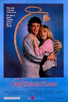 My Demon Lover 1987 Authentic x Original Movie Poster Fine Gina Gallego Horror U. One Sheet Best Movie Posters, Original Movie Posters, Street Musician, New Line Cinema, Parental Guidance, Very Scary, Fantasy Movies, Being Good, Love Can