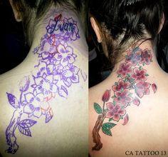 tatuagem cobertura  tatuadora kakau