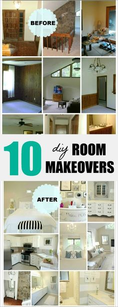 10 DIY Room Makeovers