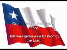 Himno Nacional de Chile - Chile National Anthem #chile #nationalanthem