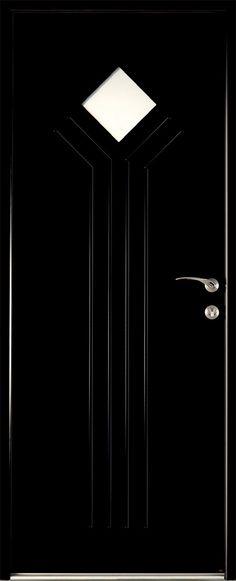 Porte d\u0027entrée aluminium NordFolk ARTENS poussant droit H215 x l90
