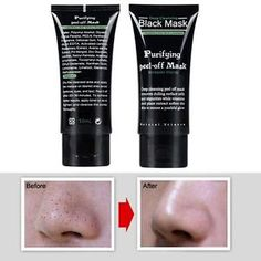 Lovely Face Care Black Mud Cleansing Peel Off Facials Mineral Rich Magnetic Face Mask Pore Cleansing Removes Skin Impurities Skin Care Extremely Efficient In Preserving Heat Beauty & Health