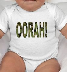 Hey, I found this really awesome Etsy listing at http://www.etsy.com/listing/165370244/oorah-marine-baby-tee