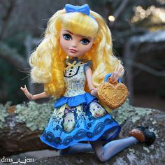 Blondie Lockes Ever After High doll by dms_a_jem