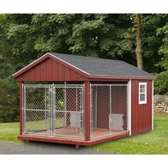 The Dog Kennel Collection specializes in dog houses of all sizes & colors, available in Lancaster County. Visit our site for more large dog houses! Dog Kennels For Sale, Diy Dog Kennel, Kennel Ideas, Shelter Dogs, Rescue Dogs, Pet Dogs, Pets, Insulated Dog Kennels, Dog Kennel Designs