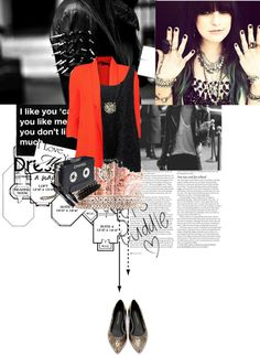 """""""New love is blind why don't you see..."""" by vannyroxx ❤ liked on Polyvore"""