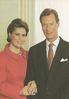 maria Teresa en henry Adele, Maria Teresa, Herzog, Royalty, Poster, Luxembourg, Postcards, Royals, Billboard
