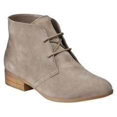 Mossimo Supply Co. Khadeja Suede Bootie in Taupe