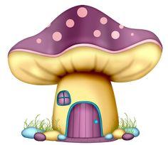 Mushroom House, Mushroom Art, Tole Painting, Fabric Painting, Mushroom Clipart, Cartoon Mushroom, Cute Cartoon Drawings, Cute Clipart, Quilt Block Patterns