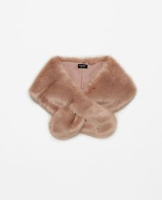 Image 2 of SMALL FAUX FUR STOLE from Zara