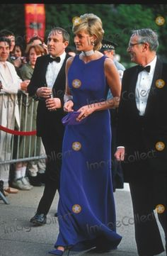 Princess Diana Wearing Versace in Chicago 06-05-1996 Photo by Alpha-Globe Photos